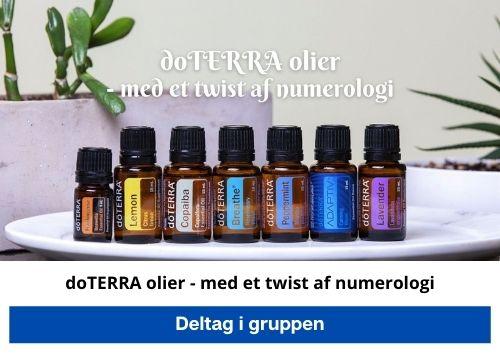 doTerra olier og numerologi