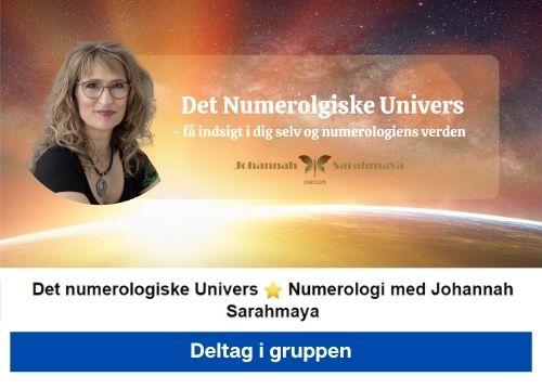 facebook gruppe det numerologiske univers