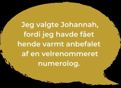 Anbefaling - Johannah - Higher Vibrations