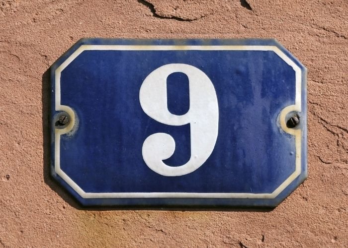 numerologi og husnummer 9
