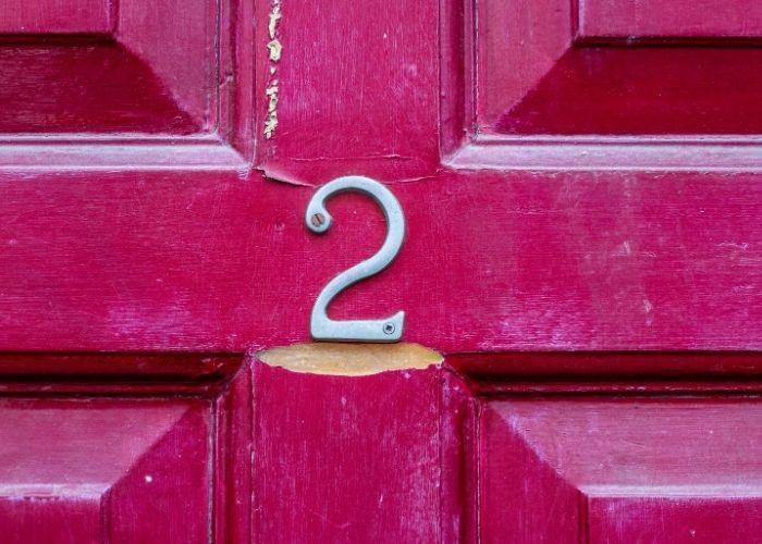 numerologi og husnummer 2