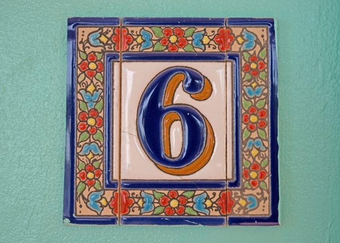 numerologi og husnummer 6